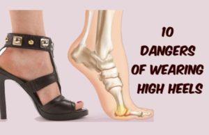 10 Dangers of Wearing High Heels
